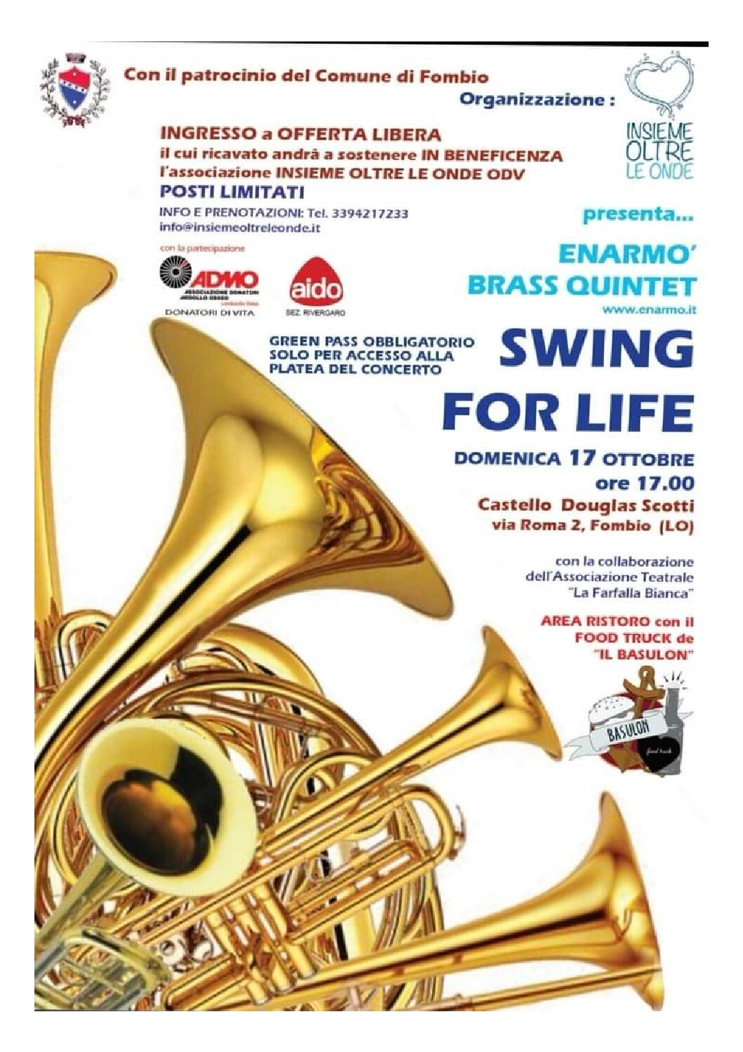 SWING FOR LIFE Autunno 2021 #FOMBIO