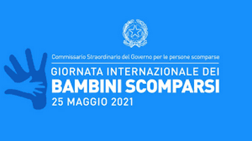 25 MAGGIO 2021 GMCN Italy Giornata internazionale dei bambini scomparsi 2020 –