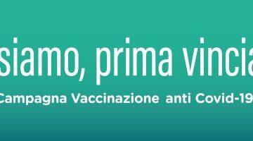Campagna vaccinazione anti COVID-19 Regione Lombardia.