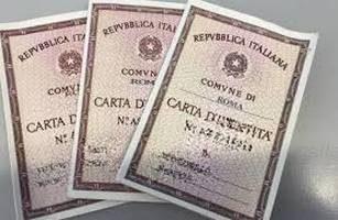 ULTERIORE PROROGA DELLA VALIDITA' DELLA CARTA D'IDENTITA'.
