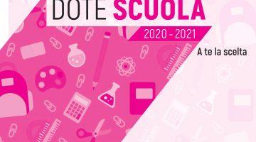 PROROGA DEI TERMINI DEL BANDO DOTE SCUOLA MATERIALE DIDATTICO A.S. 2020/2021