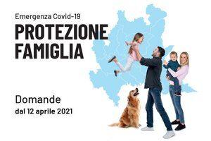 """APERTURA """"BANDO PROTEZIONE FAMIGLIA – EMERGENZA COVID-19"""" ."""