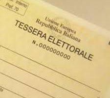 REFERENDUM COSTITUZIONALE DEL 20-21 SETTEMBRE 2020: TESSERE ELETTORALI.